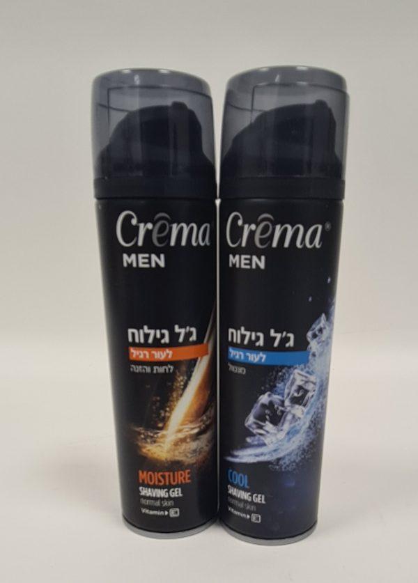 CREMA - ג'ל לגילוח