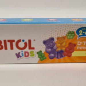 אורביטול - משחת שיניים לילדים בטעם סוכריות ג'לי