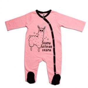 אוברול כותנה רגלית לתינוקות - נושנוש