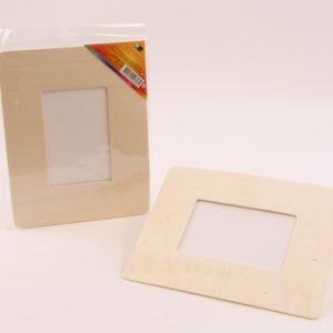 מסגרת מלבן מעץ לתמונה