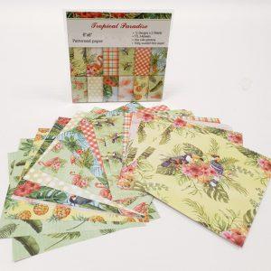 24 דפי עיצוב פלמינגו תוכי ירוק אדום