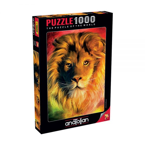 פאזל 1000 חלקים - LION