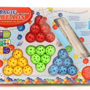 משחק הרכבה כדורים וצינורות