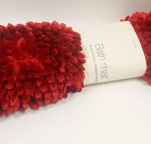 שטיח אמבטיה שניל אדום