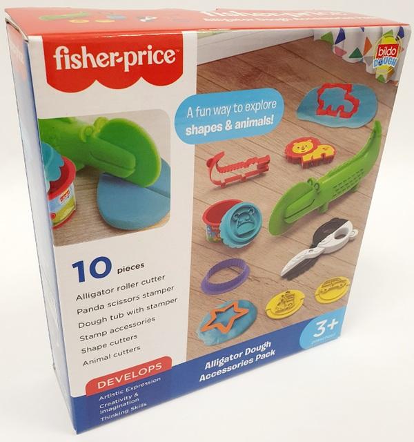 משחק בצק, צורות וחיות - פישר פרייס