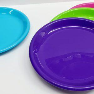 צלחת פלסטיק שטוחה