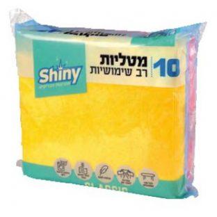 SHINY - מארז מטליות רב שימושיות CLASSIC