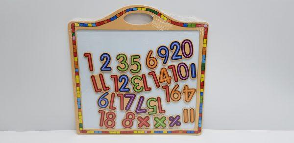 לוח מספרים מגנטי
