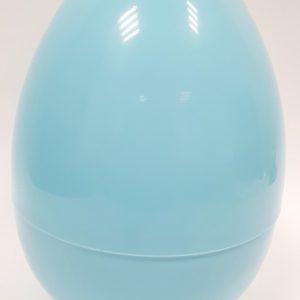 ביצה פלסטיק נפתחת - תכלת