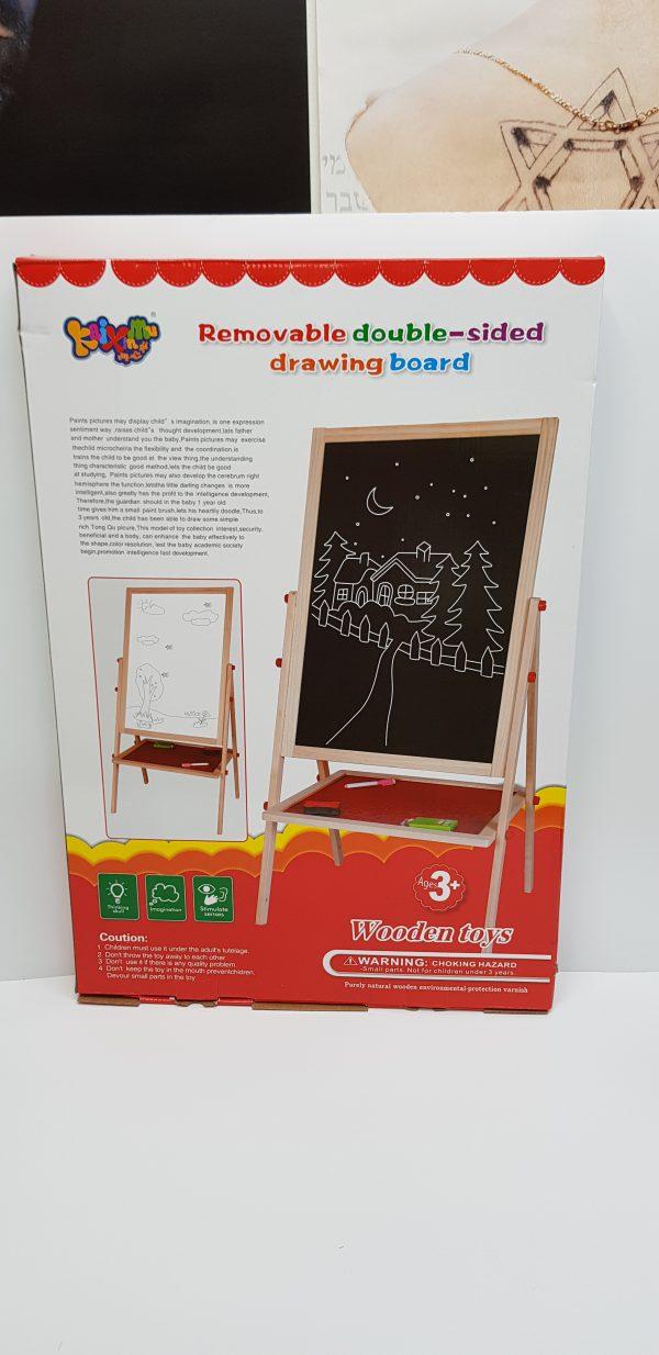 לוח ציור דו צדדי עומד