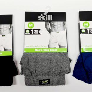חמישיית קרסוליות ניילון צבע גוף– SKILL