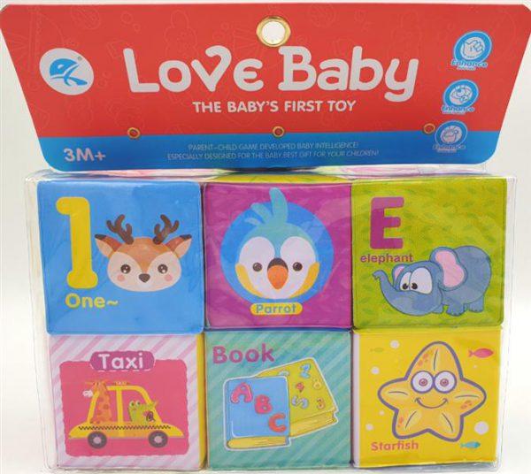 משחק קוביות לתינוק