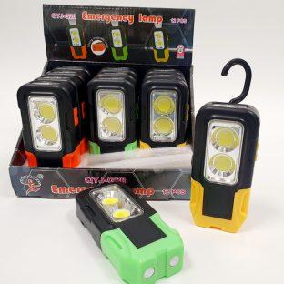 פנס LED כפול מגנטי תלייה