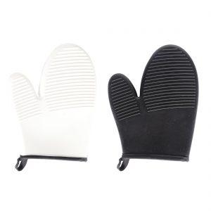כפפה מבודדת חום - דגם שחור לבן