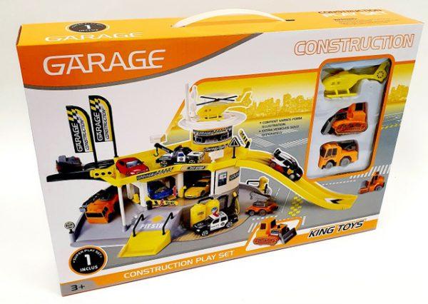 משחק הרכבה חניון עם מנחת מסוקים