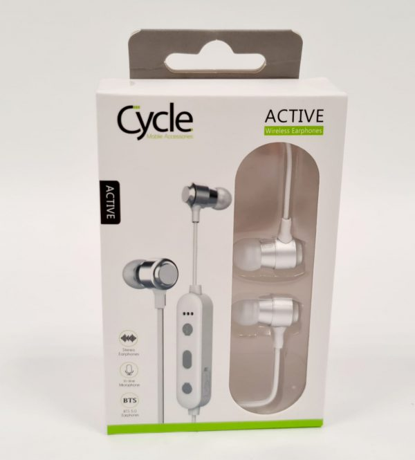 אוזניות סטריאו - CYCLE ACTIVE - שחור