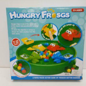 משחק צפרדעים רעבים