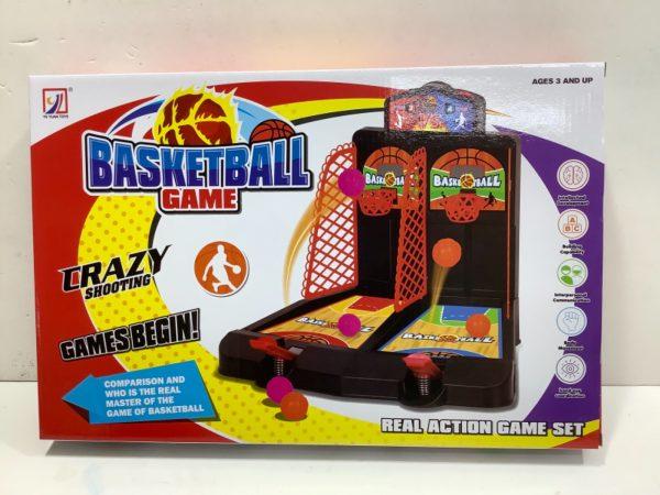 משחק כדורסל שולחני לזוג שחקנים