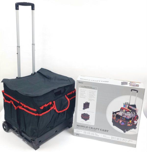 מזוודה מתקפלת ליוצרות עם גלגלים