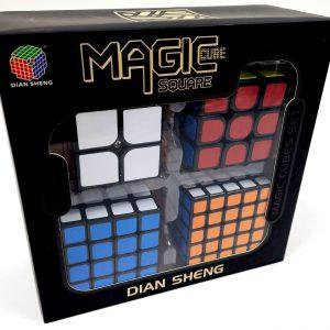 קוביית משחק - מארז רביעיית קוביות