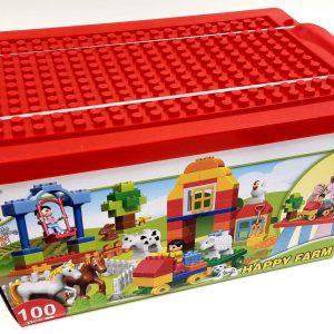 אבני משחק - חווה בכפר בקופסאת הרכבה