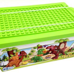 אבני משחק - דינוזאורים בקופסאת הרכבה