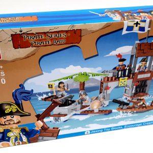 אבני משחק - ספינת פיראטים