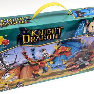 אבני משחק - אבירים ודרקון אדום