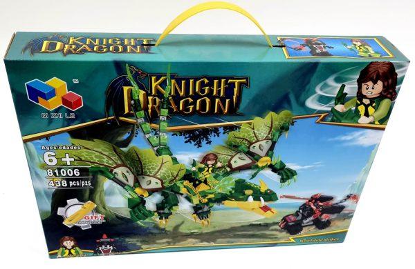 אבני משחק - אבירים ודרקון ירוק