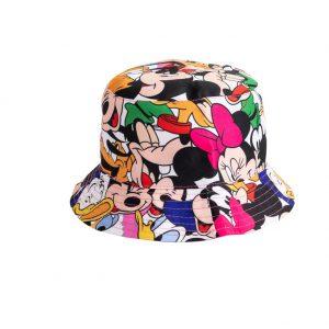כובע שוליים לילדים - מיקי מאוס והחברים
