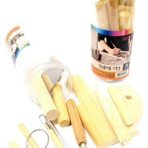 מארז כלי פיסול לחימר ובצק