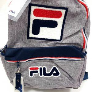תיק בית ספר - FILA - ג'ינס אפור