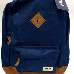 תיק בית ספר - FILA - חום כחול