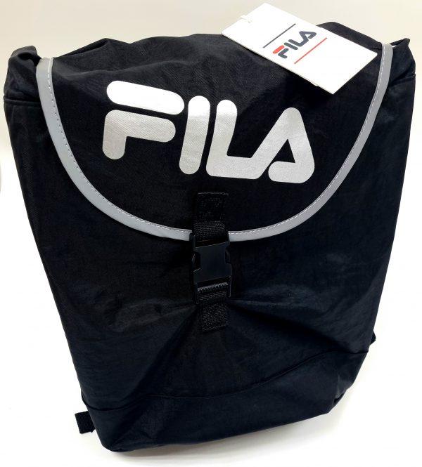 תיק בית ספר - FILA - מרובע שחור