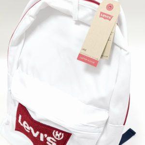 תיק בית ספר - LEVI'S - לבן
