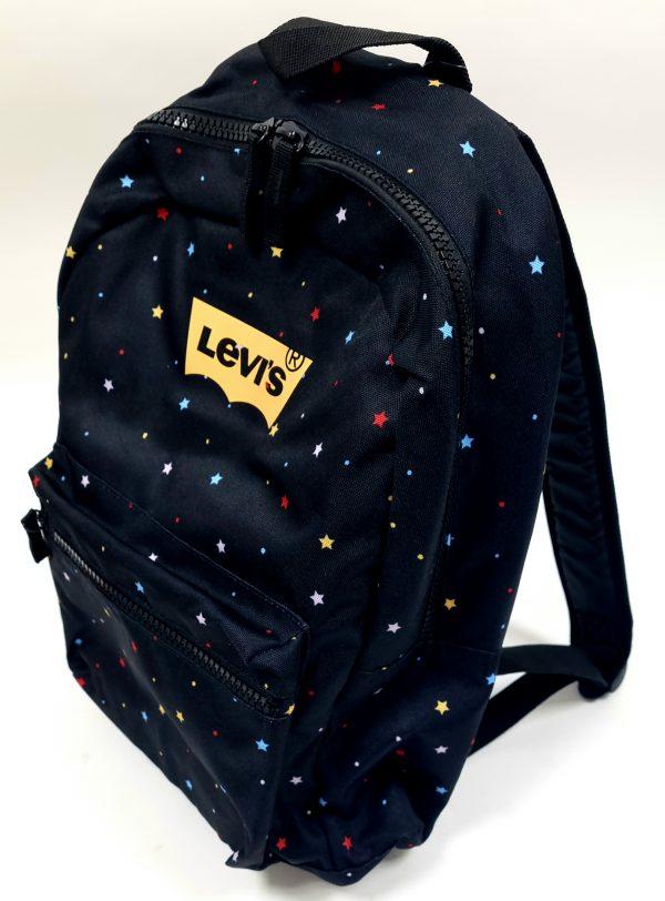 תיק בית ספר - LEVI'S - שחור כוכבים