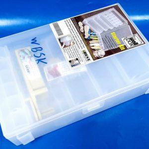 קופסאת איחסון לוושי טייפ עם מתקן