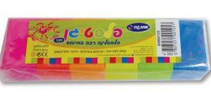 פלסטיגן זוהר 6 צבעים - אומגה