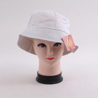 כובע שוליים לבן