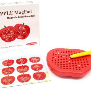 לוח עט מגנטי - תפוח