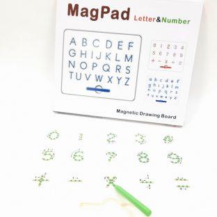 לוח עט מגנטי - מספרים