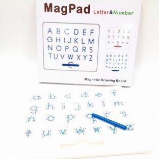 לוח עט מגנטי - אותיות אנגלית קטנות