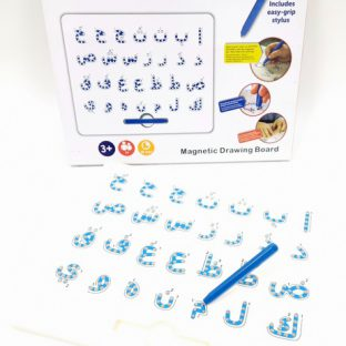 לוח עט מגנטי - אותיות ערבית