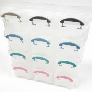 מארז קופסאות אחסון - 12 תאים נשלפים