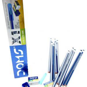 מארז עפרונות עם מחק מחדד וכיסוי