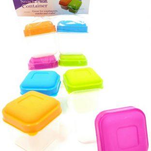 רביעיית קופסאות אחסון צבעוניות