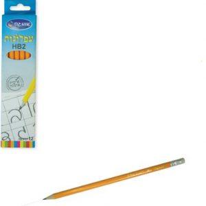 12 עפרונות HB - אומגה
