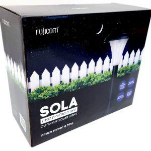 מארז תאורה סולארית לגינה