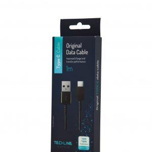 כבל טעינה 1מטר  USB TO TYPE-C- סמסונג