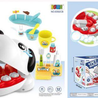 משחק כלבלב - מרפאת שיניים